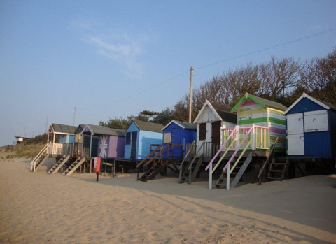 Beach Huts Wells next the Sea